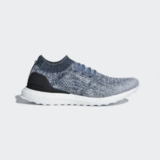 Chaussure UltraBOOST Uncaged Parley Raw Grey / Chalk Pearl / Blue Spirit AC7590
