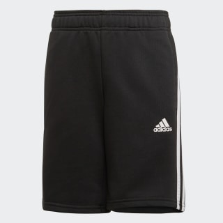 Must Haves 3-Stripes Shorts Black / White ED6492