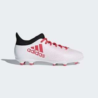 X 17.3 Firm Ground Boots Grey/Real Coral/Core Black CP8991