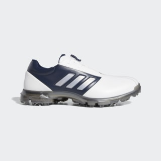 Alphaflex Boa Shoes Cloud White / Dark Silver Metallic / Collegiate Navy F35397