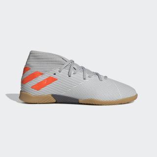 Chuteira Nemeziz 19.3 Futsal Grey Two / Solar Orange / Chalk White EF8304