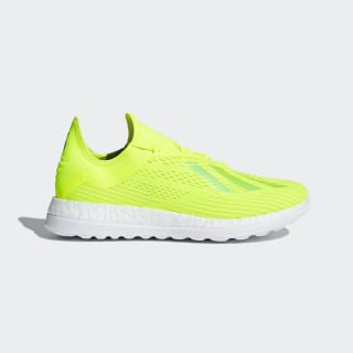 Chaussure X 18+ Solar Yellow / Solar Yellow / Ice Yellow BB7421