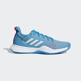 Tenis Solar LT Shock Cyan / Ftwr White / Active Red BB7238