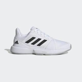 Кроссовки для тенниса CourtJam Bounce Cloud White / Core Black / Matte Silver EF2765