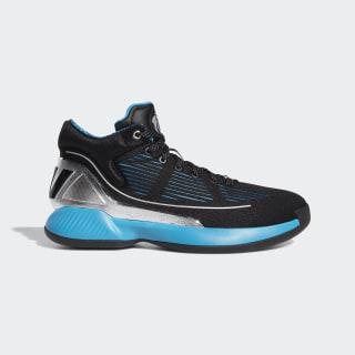 D Rose 10 Star Wars Shoes Core Black / Silver Met. / Hi-Res Aqua EH2458