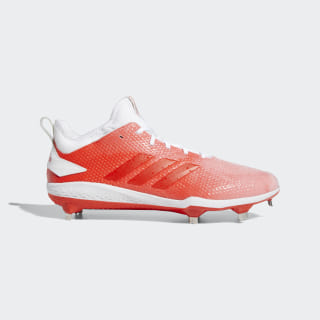Adizero Afterburner V Splash Cleats Cloud White / Hi-Res Red / Cloud White B76036