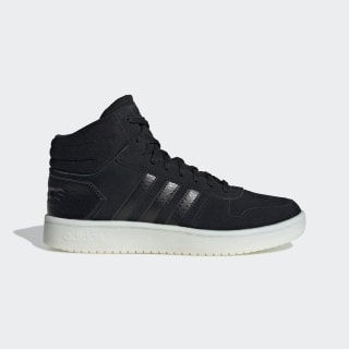 Chaussure Hoops 2.0 Mid Core Black / Core Black / Cloud White EE7893