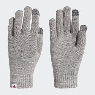 Performance Gloves Medium Grey Heather / White / Active Maroon DZ8922