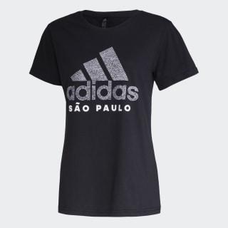 Camiseta Cidade SÃO PAULO Black GG1975