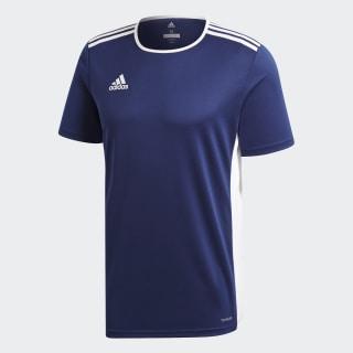 Camiseta ENTRADA 18 JSY DARK BLUE/WHITE CF1036