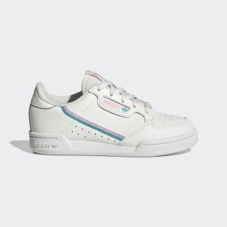 Chaussure Continental 80 Off White / True Pink / Hi-Res Aqua EE6497