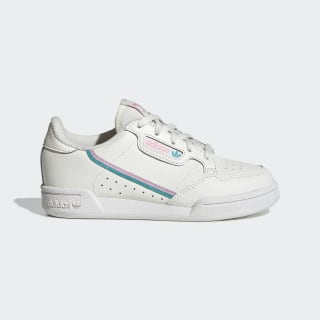 Continental 80 Shoes Off White / True Pink / Hi-Res Aqua EE6497