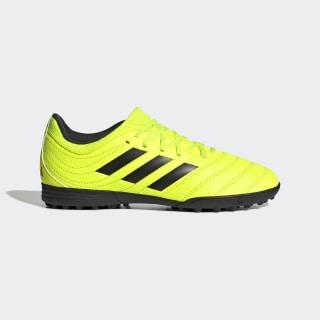 Zapatilla de fútbol Copa 19.3 moqueta Solar Yellow / Core Black / Solar Yellow F35463
