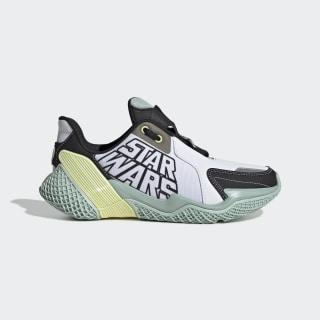 Giày chạy bộ Star Wars 4UTURE Cloud White / Core Black / Green Tint EF9481