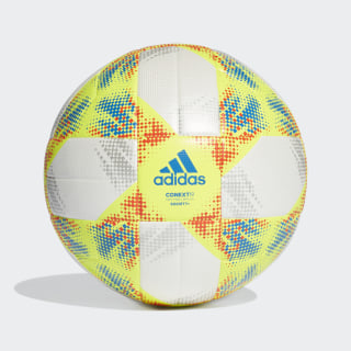 Conext 19 Society+ Ball White / Solar Yellow / Solar Red / Football Blue DN8643
