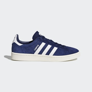 Campus Sko Dark Blue / Footwear White / Chalk White BZ0086