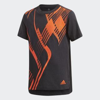 Predator T-Shirt Black / Solar Red DJ1248