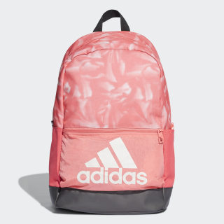 Classic Badge of Sport Graphic Backpack Prism Pink / Black / White DT2593