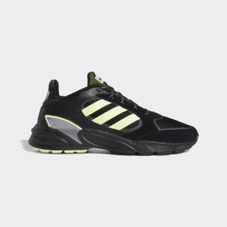 90s Valasion Shoes Core Black / Hi-Res Yellow / Grey Three EG5639
