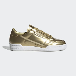 Continental 80 Shoes Gold Metallic / Matte Gold / Crystal White FW5475