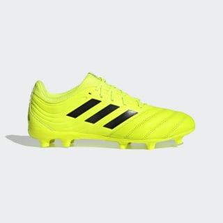 Zapatos de Fútbol Copa 19.3 Terreno Firme solar yellow/core black/solar yellow F35495