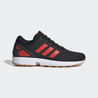 Sapatos ZX Flux Core Black / Hi-Res Red / Cloud White EG5407