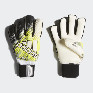Classic Pro Fingersave Goalkeeper Gloves Black / Solar Yellow / White DY2621