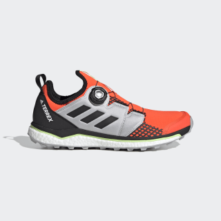 TERREX Agravic Boa Trailrunning-Schuh Solar Red / Core Black / Grey Two EH0200