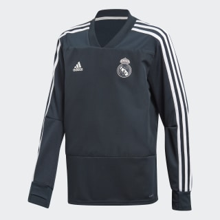 Maglia da allenamento Real Madrid Blue / Black / Core White CW8654