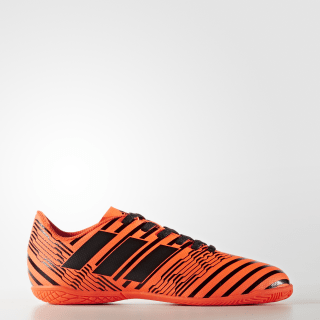 Calzado de Fútbol Nemeziz 17.4 Indoor Solar Orange / Core Black / Solar Orange S82467