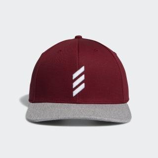 Adicross Bold Stripe Hat Collegiate Burgundy FI3036
