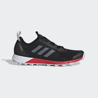 Tenis de trail running Terrex Core Black / Cloud White / Active Red G26388