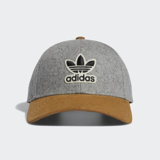 Structured Archive Strap-Back Hat Medium Grey Heather CL5210