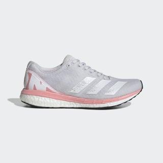 adizero Boston 8 Shoes Dash Grey / Cloud White / Glory Pink EE5147
