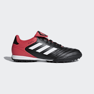 Zapatos de Fútbol Copa Tango 18.3 Césped Artificial CORE BLACK/FTWR WHITE/REAL CORAL S18 CP9022