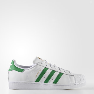 Tenis Superstar FTWR WHITE/GREEN/GOLD MET. BY3715
