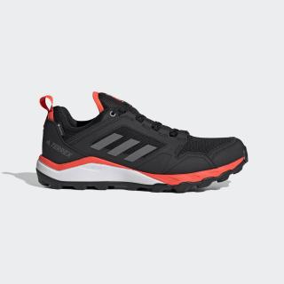 Zapatilla Terrex Agravic TR GORE-TEX Trail Running Core Black / Grey Four / Solar Red EF6868