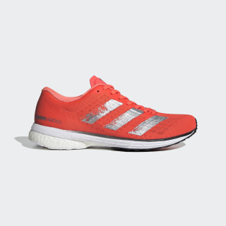 Adizero Adios 5 Shoes Signal Coral / Silver Metallic / Core Black EG1179