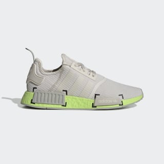 NMD_R1 Shoes Clear Brown / Metal Grey / Semi Solar Slime FV3908