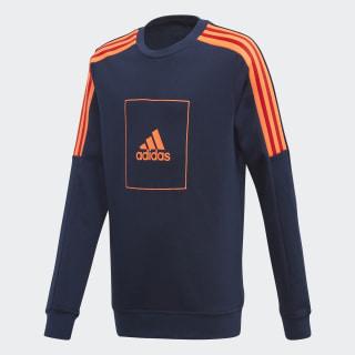 adidas Athletics Club Crew Sweatshirt Collegiate Navy / Collegiate Navy / App Solar Red FL2817