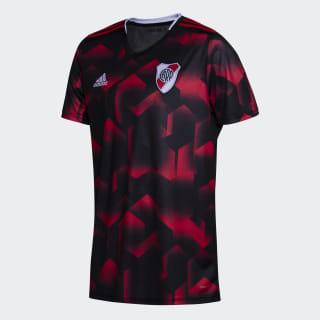 Tercera Camiseta Club Atlético River Plate black / collegiate red DP2822