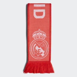 Real Madrid Schal Real Coral / Vivid Red / White CY5604