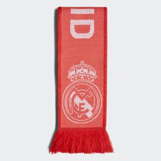 Real Madrid halstørklæde Real Coral / Vivid Red / White CY5604