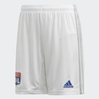 Pantalón corto primera equipación Olympique de Lyon White DW4394