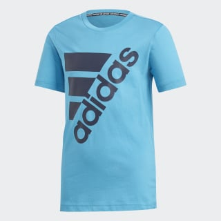 Camiseta  Badge of Sport Must Haves Blue / Collegiate Navy DV0794