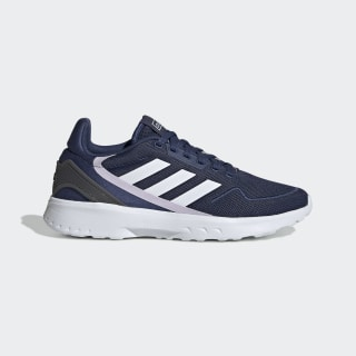 Nebzed Shoes Tech Indigo / Cloud White / Purple Tint EG3717
