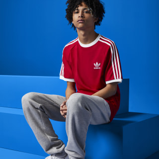 3-Stripes T-shirt Power Red DV1565