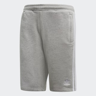 Pantalón corto 3 bandas Medium Grey Heather DH5803