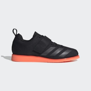 Powerlift 4 Shoes Core Black / Night Metallic / Signal Coral EF2981