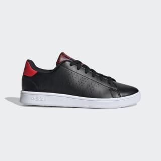 Advantage Shoes Core Black / Core Black / Active Red EF0216